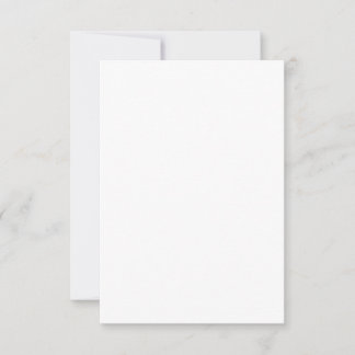 8,9 x 12,7 cm Flat Card