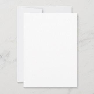 11,4 x 15,9 cm Flat Card