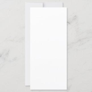 10,2 x 22,9 cm Flat Card