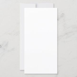 20,3 x 10,2 cm Flat Card