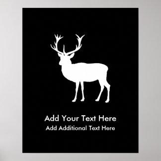Svensexa - elegant teckning av en fullvuxen poster