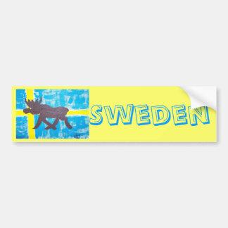 Svensk älg bildekal