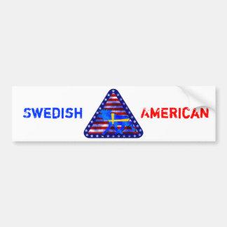 Svensk-Amerikan älg Bildekaler