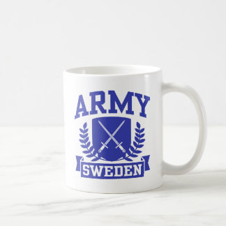 Svensk armé kaffemugg