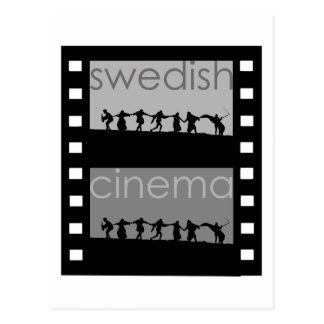 Svensk bio vykort