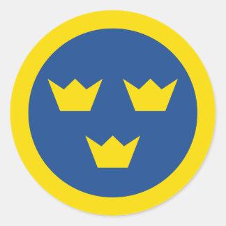Svensk Roundel klistermärke