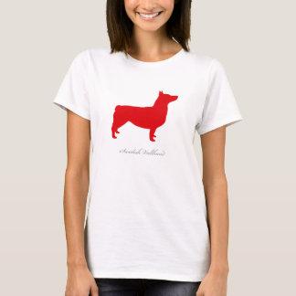 Svensk Vallhund T-tröja (anslutit rött) T Shirt