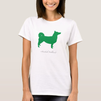 Svensk Vallhund T-tröja (gröna naturliga) Tröja