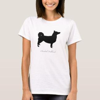 Svensk Vallhund T-tröja (svart naturliga) T-shirts