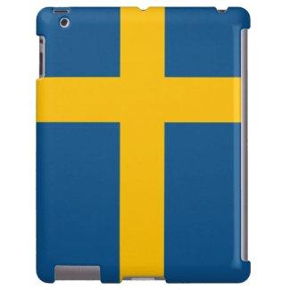 Svenska flaggan iPad fodral
