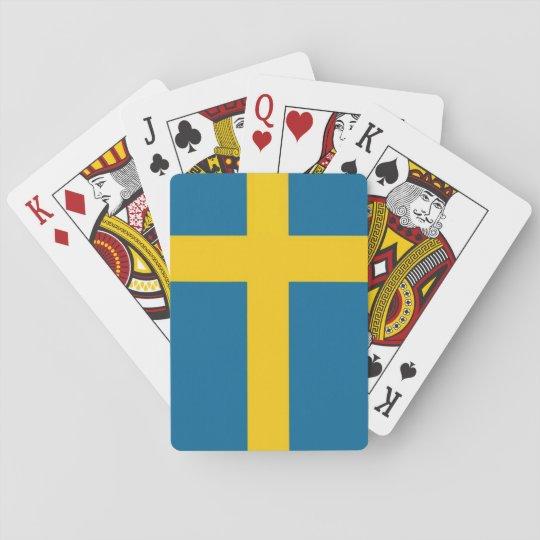 Svenska flaggan kortlek