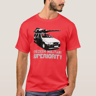 Svenska militära Superiourity T Shirt