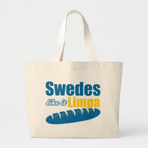 Svenskar gillar det roliga Limpa Tygkassar
