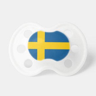 Svensken sjunker gåvan för baby shower för napp