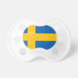 Svenskflagga Baby Napp