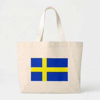 Svenskflagga Jumbo Tygkasse