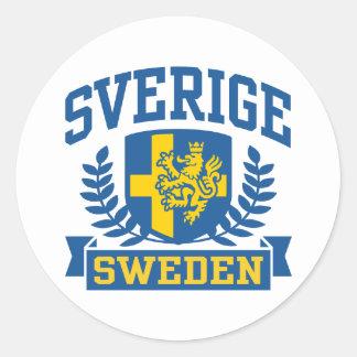 Sverige Runt Klistermärke