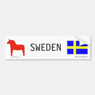 Sverige Bildekal