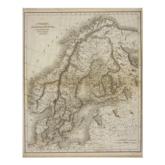 Sverige Danmark, norge Poster