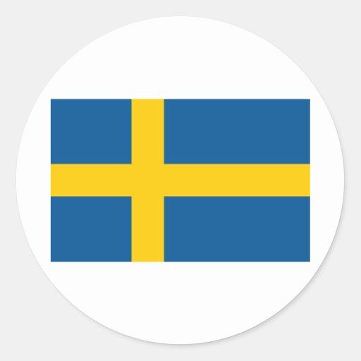 Sverige flagga klistermärke