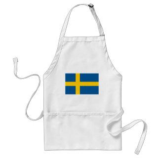 Sverige flagga förkläde