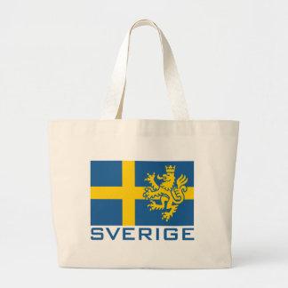 Sverige flagga kassar