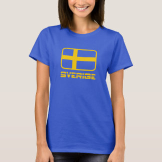 Sverige flagga tshirts