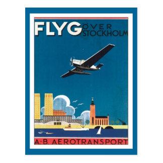 Sverige för FLYG Stockholm Vykort