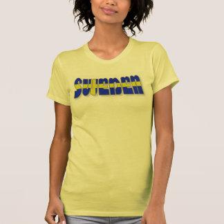 Sverige, i att märka för flagga t shirts