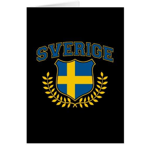 Sverige Hälsningskort