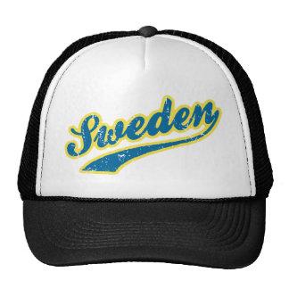 Sverige Baseball Hat