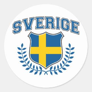 Sverige Klistermärken