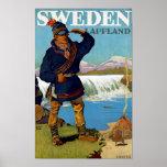 Sverige~ Lappland Affischer