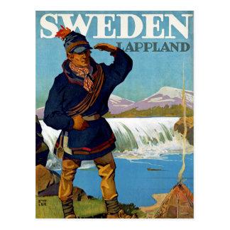 Sverige~ Lappland Vykort