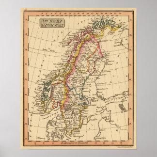 Sverige norge 3 poster