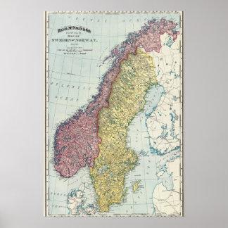 Sverige och norge 5 poster