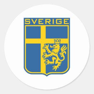 Sverige Sverige Runt Klistermärke