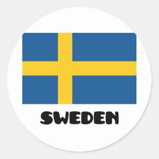 Sverige/Sverige Runt Klistermärke