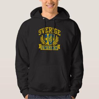 Sverige Sweatshirt Med Luva