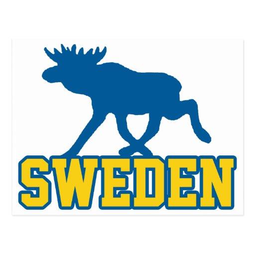 Sverige Vykort