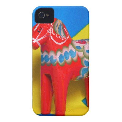 SverigeDala häst iPhone 4 Hud