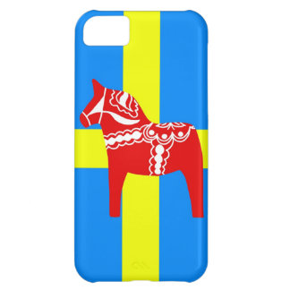 SverigeDala häst iPhone 5C Fodral