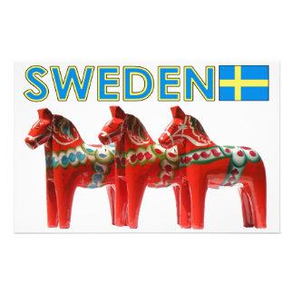 SverigeDala hästar Brevpapper