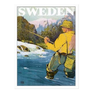 Sverigefiske Vykort