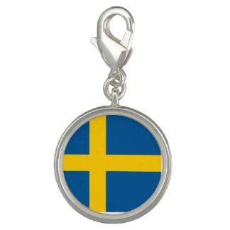 Sverigeflagga Foto Berlock