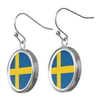 Sverigeflagga Örhängen