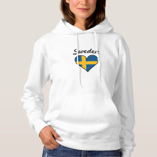 Sverigeflaggahjärta Tröjor
