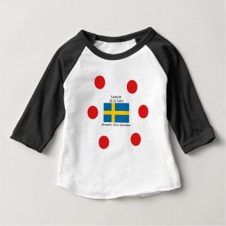 Sverigeguld 2018 - kvinna 15km Skiathlon T-shirt