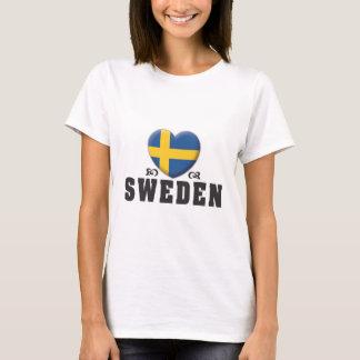 Sverigekärlek C T Shirts