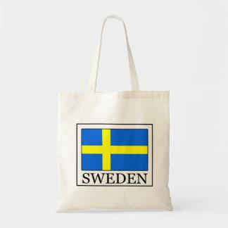 Sverigen hänger lös budget tygkasse
